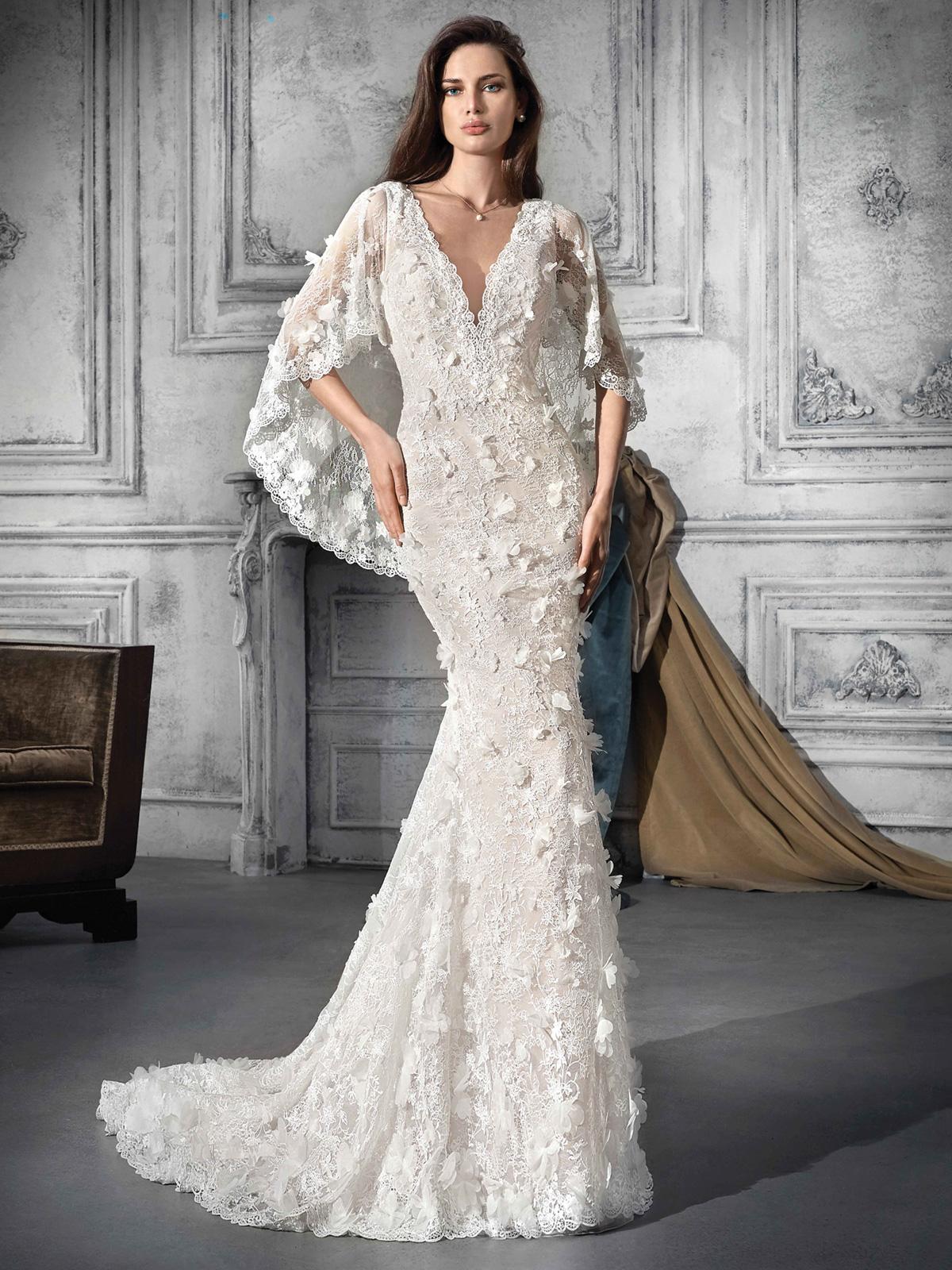 Vestido de Noiva de renda sofisticado e exclusivo !! Renda toda trabalhada com caimento impecável !